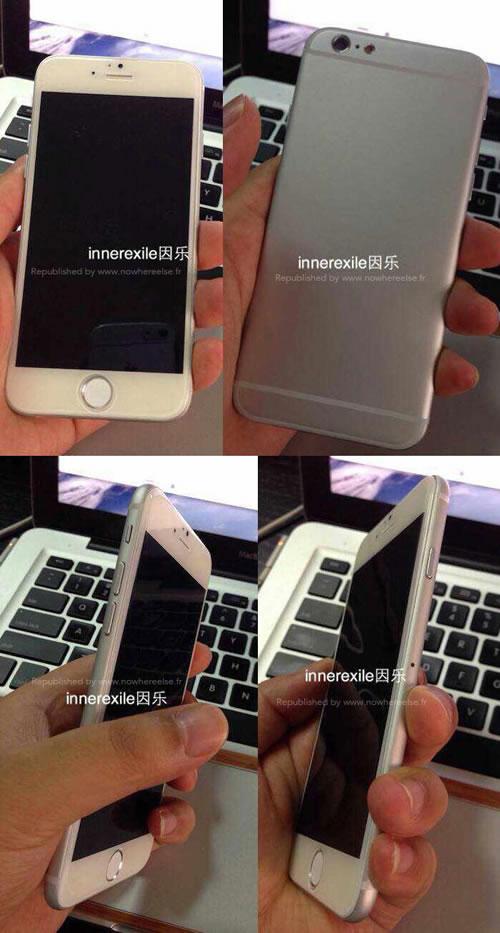 """iPhone6モックアップ<br />""""></p> <p>iPhone6の発売日は9月〜10月頃になると思われますが、iPhone5sの時同様にそれまではこういった動画や写真でワクワク楽しむことになりそうです。<br /><BR><BR></p> <p><a href="""
