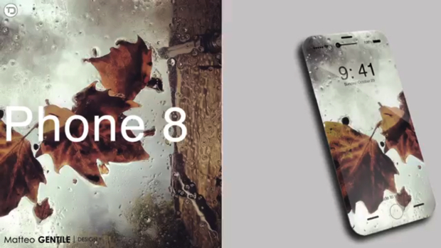 iPhone8ではワイヤレス充電のためにガラス製ボディを採用!?
