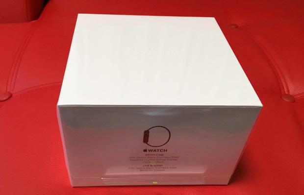 Apple Watch 42mm スペースブラック リンクブレスレット届きました!