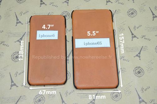 """iPhone6モックアップ5.5<br />""""></p> <p>やはり5.5インチのアイフォンはデカいです。</p> <p>どちらも写真では5.5インチモデルはiPhone6sと表記されてます。5.5インチは写真もモックアップもまだ登場してないので。なんか来年出るような気もしてきましたが、、、</p> <p><BR><BR><br />そろそろ流出してくるのでしょうか?4.7インチと5.5インチモデル同時発売を期待したいです。</p> <p><BR><BR></p> <p><a href="""
