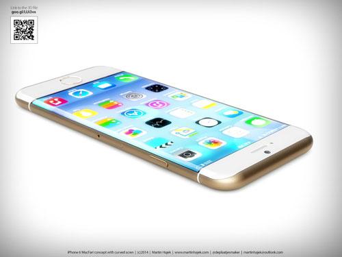 iPhone6/6sの4.7インチと5.5インチが比較出来る映像!