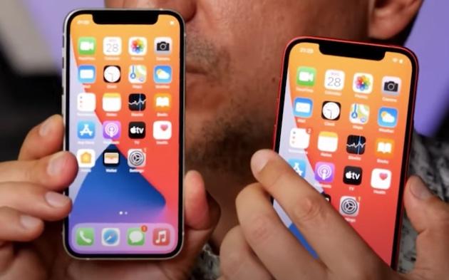 際立つ小ささ!「iPhone12 mini」のハンズオン動画が公開される