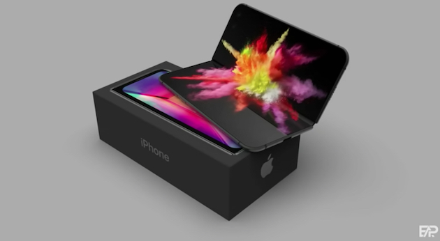 折りたたみiPhoneは来年2021年度に投入される?ヒンジをはさんだ2画面でFace IDはなし?