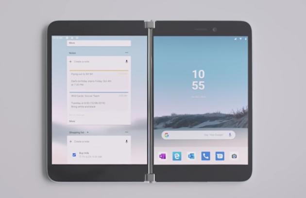 折りたたみiPhoneは独立したディスプレイを採用しMicrosoft Surface Duoのようなスタイルか?