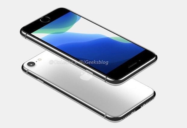 「iPhone 9」(iPhone SE2)のレンダリング画像とスペックの一部が公開!バッテリー容量もアップか?