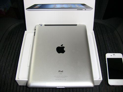 iPadのWiFi+Cellularモデル(第3世代)を買ってきた。【新】iPad ゼロから定額キャンペーンと価格、月々の料金メモ&