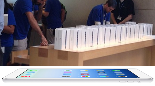 iPad Airの在庫状況