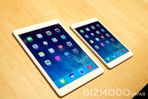 iPad mini2は11月中に販売 iPad Air 日本発売日は11月1日!先行予約なし