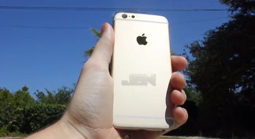 iPhone6 スクラッチテスト