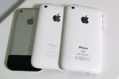 iPhone3GSの機種変更