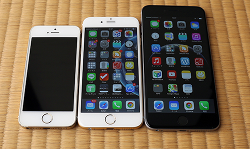 iPhone6と6plus
