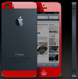 iPhone5s赤