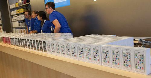 Apple Storeの従業員