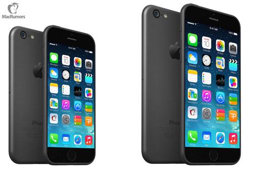 iPhone6のフロントパネルやモックアップ等の写真?が続々と流出