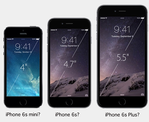 iPhone6s mini 4インチ