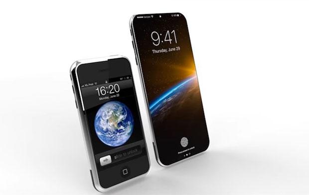 次期iPhoneのプレミアムモデルには初代iPhoneに似た丸みを帯びたWaterDropDesignのガラス製ボディを採用?