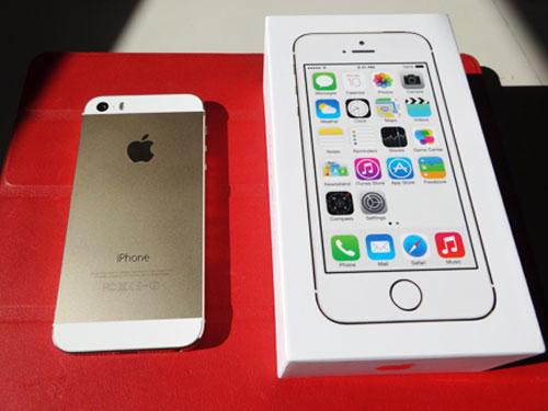 iPhone5s ゴールドの開封! そしていろんな角度をとらせて撮影