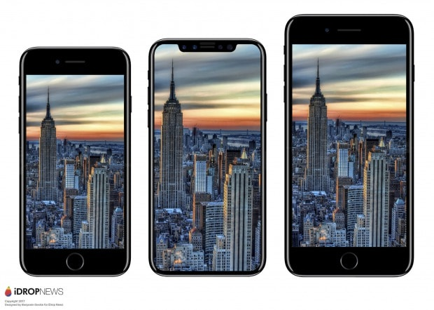 iPhone8やiPhone7sのパネル画像が流出!全モデルワイヤレス対応か