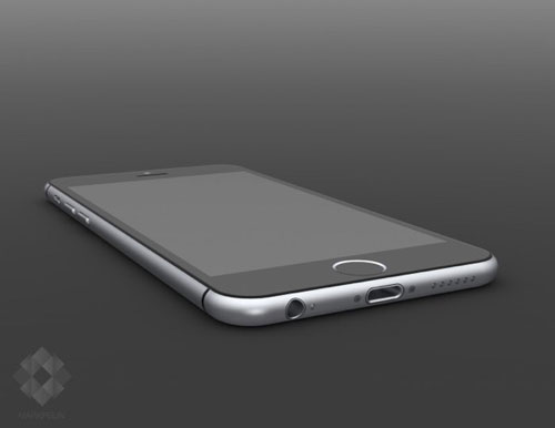 レンダリングiPhone6