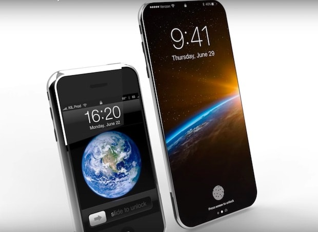 【iPhone8コンセプト動画】ファンクションエリアなど噂に忠実なコンセプト動画が公開