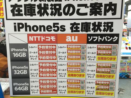 ソフトバンクオンラインショップで購入したiPhone5sの電話切替とアクティベーション方法。